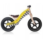 Rebel Kidz 12 Wood Taxi - Yellow