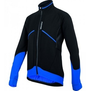 Santini Brigand FW50775BRIGA Winter Jacket - Black/Blue