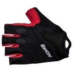 Santini Atom Gloves - Red