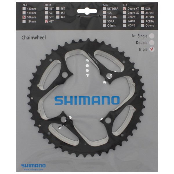 Shimano Deore XT FC-T781 Chainring Outside 44T Chain Guard - Y1MP98060 -  XXcycle - en