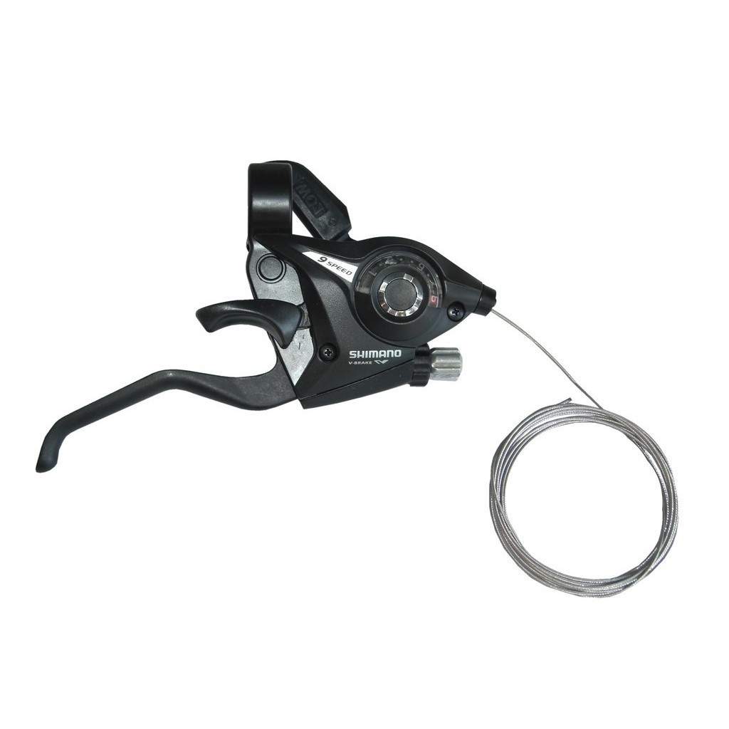 Shifter Shimano STEF 51 (2 Fingers) - 9 speeds