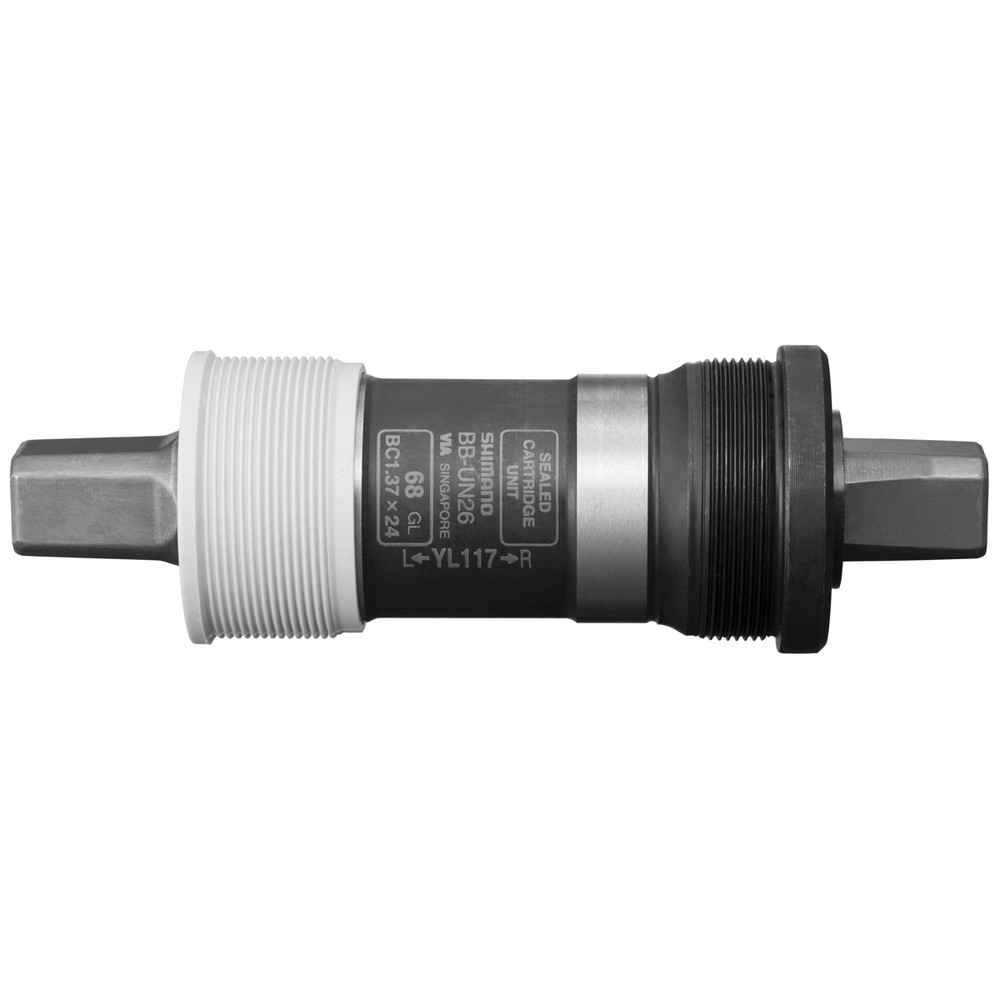 Black 68-113 mm Shimano BB-UN26 Bottom Bracket