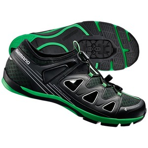 Shimano SH-CT46 Trekking Shoes - Black / Green