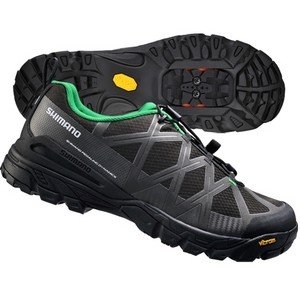 Shimano SH-MT54 Trekking Shoes - Black/Green