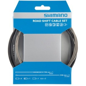 Shimano Y60098022 Road Shifting Set - Black