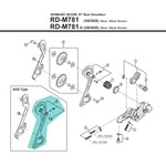 Shimano Outerplate MTB Derailleur - Y5Y098030