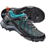 Shimano SH-MT34 Trekking Shoes - Black / Green Viridian