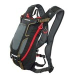 Shimano Unzen Enduro MTB Backpack - Vol. 4 l - Black/Red