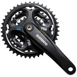 SHIMANO Altus FC-M311 Crankset - 3 chainrings - 8 Speed - Without Chain Guard