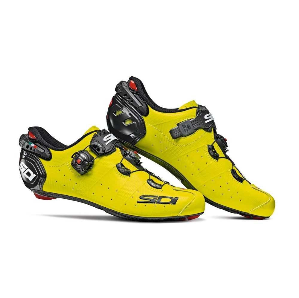 Sidi Wire 2 Carbon Shoes Yellow Fluo