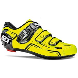 Sidi Level Shoes Carbon Yellow Fluo 2016