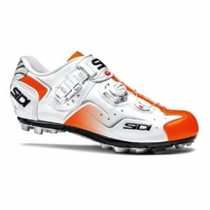 Sidi Cape Shoes White / Orange Polish