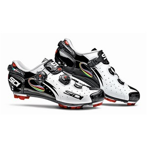Sidi Shoes Drako White/Black/Iride Polish