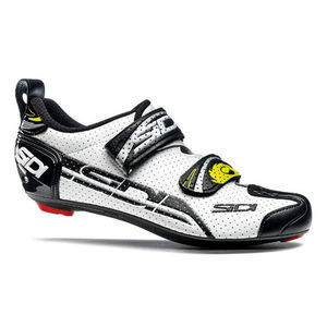 Sidi T4 Triathlon Shoes 2019 - White/Black