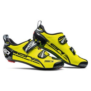 Sidi T4 Triathlon Shoes 2019 - Fluo Yellow / Black