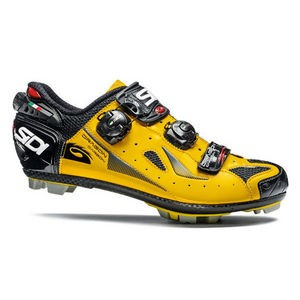 Sidi Dragon 4 SRS Carbon MTB Shoes - Fluo Yellow