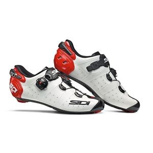 Sidi Wire 2 Carbon Shoes - White/Black/Red