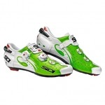 Sidi Wire carbon Shoes Lime/White