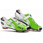 Sidi Drako Shoes Lime / Whire Polish 2016