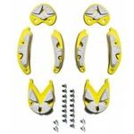 Sidi SRS Dragon 5 MTB Inserts - Grey/Yellow