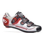 Sidi Genius 7 Fit Shoes White/Black/Red
