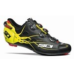 Sidi Shot Matt Shoes - Black/Yellow