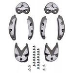 Sidi SRS Dragon 5 MTB Inserts - Black/Grey