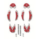 Sidi SRS MTB Dragon Carbone 2 & 3 Sole - Red
