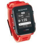 Sigma ID.TRI GPS Running Watch - Red