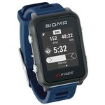 Sigma ID.Free GPS Running Watch - Blue