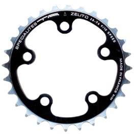 Chainring Road :: Specialites-TA Chainring ZELITO 74mm Campa and  Shimano Triple