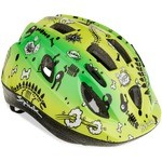 Spiuk Children's Skeleton Helmet - Yellow-Green