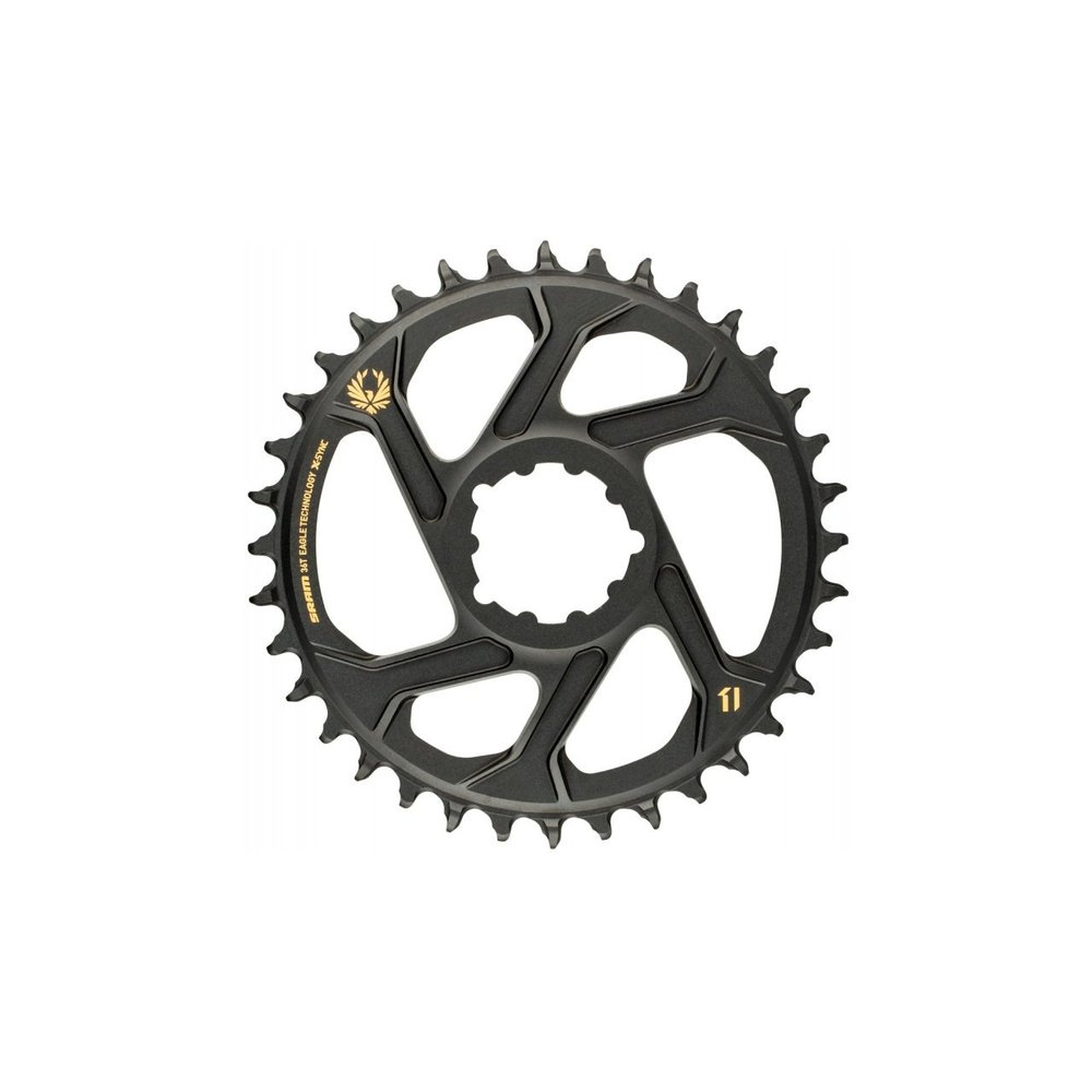 Sram Eagle X-SYNC 2 Direct Mount Chainring - 12 Speed - 6mm Offset - Gold