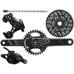Sram X01 MTB groupset - 1x11 Black