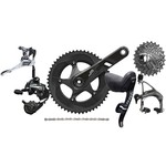 SRAM Force 22 Groupset 2x11 compact - GXP - with mechanic rim brakes