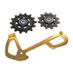 SRAM XX1 Eagle Derailleur Pulleys and Internal Clevis - Gold