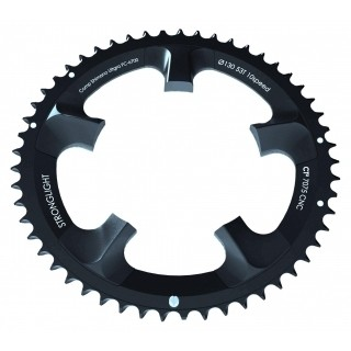 Chainring Road :: Stronglight CT� Shimano Ultegra 6750 110 mm 10 Chainring Outside - Black