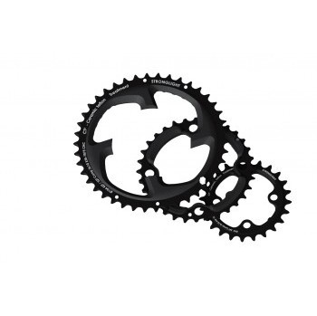 Stronglight MTB Type CT2 Shimano XTR FC-M980 64 mm 10 s Inside Triple Chainring - Black