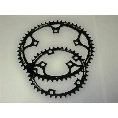 Chainring Road :: Stronglight  Chainring Bio Concept 130 Kit CT2