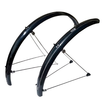 "Mudguards Stronglight Tour ""S"" 28' (Black) 54 mm"