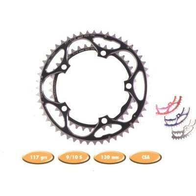 Stronglight Chainring 130 Shi   ZICRAL SILVER 10/09 Speed