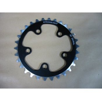 Stronglight Chainring 74mm INNER 7075 TYPE S BLACK