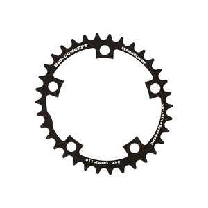 Chainring Road :: Stronglight Bio concept CT� Chainring 110 mm - Inside
