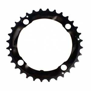 Chainring MTB / Trekking :: Stronglight MTB Type XC E-5083 104 mm Middle Chainring - Black
