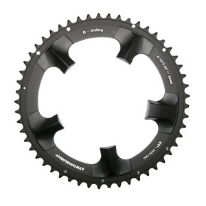 45667b6984a Stronglight E-Shifting CT² Shimano Dura Ace 130 mm FC-7900 Chainring -  Outside - XXcycle - en
