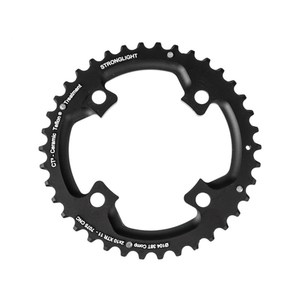 Stronglight MTB Type CT2 Shimano XTR FC-M980 104 mm 10 s Outside Double Chainring - Black