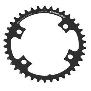 Stronglight Type 7075 Shimano 105 FC-5800 110 mm Inside Chainring - Black