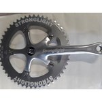 Stronglight Speed Messenger Track Crankset - Silver