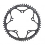 Stronglight Type S 7075-T6 Shimano 130 mm 9/10 Outside Chainring - Silver