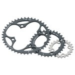 Stronglight MTB Sram Type 7075-T6 104 mm 10 s Outside Double Chainring - Black